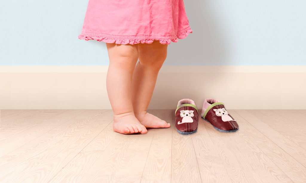 Schuhgröße richtig messen